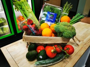 Large Fresh Food Box with 10 or so items
